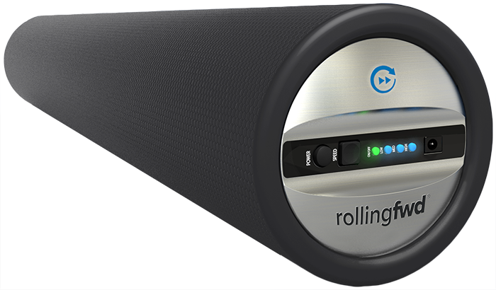 vibrating foam roller on kickstarter