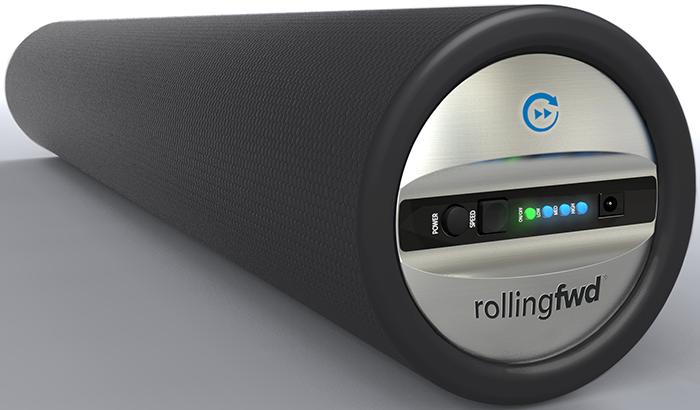 vibrating foam roller on kickstarter