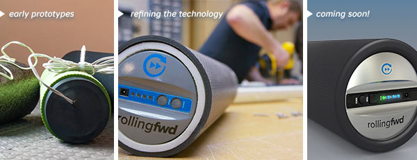 building a vibrating foam roller